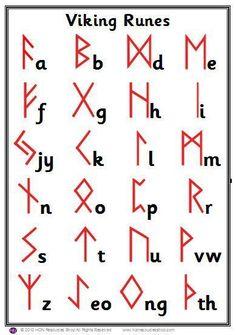 Ancient Alphabets, Ancient Symbols, Mayan Symbols, Norse Symbols, Egyptian Symbols, Alphabet Code, Alphabet Symbols, Alfabeto Viking, Different Alphabets