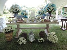 #casamento #mesa #bolo #florefesta #love #azul