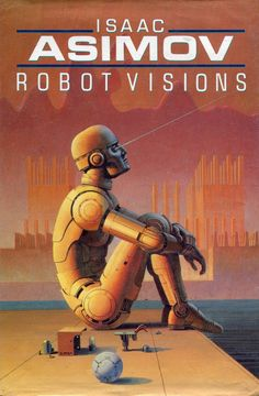 Ralph McQuarrie positronic robots Illustrations for Isaac Asimov Robot Vision.
