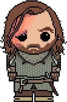 Game of Thrones: Sandor Clegane (The Hound) PDF Chart Pattern by Shylah Addante