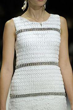Crochê e CIA: Inverno 2014... Glamour Demais. Dolce & Gabbana