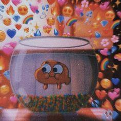 Metadinha Darwin and Gumball -The Amazing World of Gumball Cute Emoji Wallpaper, Cartoon Wallpaper Iphone, Bear Wallpaper, Cute Disney Wallpaper, Cute Cartoon Wallpapers, Cute Wallpaper Backgrounds, Aesthetic Iphone Wallpaper, Cartoon Profile Pictures, Cartoon Pics