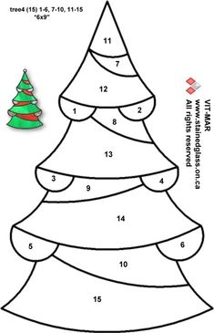 Christmas-tree-free-pattern