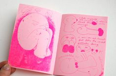 Lumpies on Parade zine #risograph
