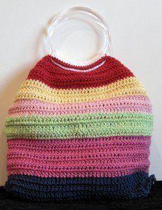 Just an Idea-Crochet Bag | AllFreeCrochet.com