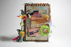 Daily Junque Journal - by Melissa Thiesse @ Bursts of Creativity