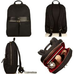 Knomo Beauchamp. Modern, slim and stylish backpack