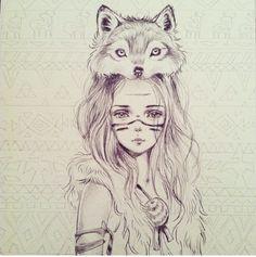 julie filipenko. #Animals #Portrait #Fox