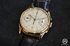 Vacheron Constantin vintage chronograph ref. 4072 – hands-on
