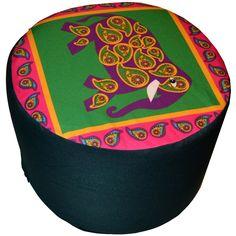 Designerska #pufa dekoracyjna #Indyjska № gd218