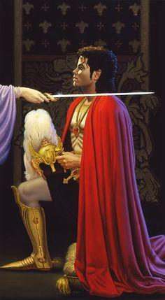 """I now dub you.Sir Michael Jackson, The King Of Pop. Michael Jackson Wallpaper, Michael Jackson Kunst, Michael Jackson Drawings, Michael Jackson Pics, Janet Jackson, Jackson Life, Jackson Family, Paris Jackson, Lisa Marie Presley"