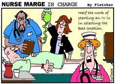 Nursing humor Nurse Marge in Charge
