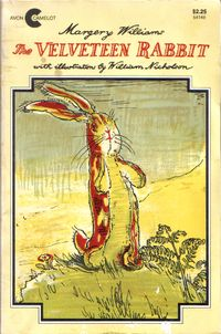 {The Velveteen Rabbit}  I picked this up at the resale shop this week for my girls.  We are starting to read chapter books with my two girls (5 & 6).  I read the book as a child, but couldn't remember the story.  As I read the summary here I think I may have to put the book up for a while.  What do you think an appropriate age is for a child to read this book?  Have you read it with your kids?