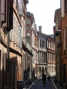 Streets of Toulouse, France