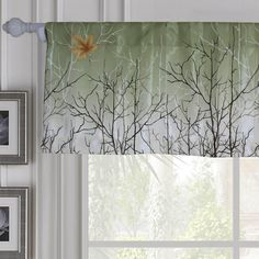 Green/Orange Maple Leaf Tree Curtains and Drapes for Living Room Set of 2 Panels Tree Curtains, Short Curtains, Window Curtains, Country Style Curtains, Rustic Curtains, Maple Leaf Tree, Patio Doors, Sliding Glass Door, Living Room Sets
