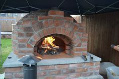 Mikes brick pizza oven: My oven build. This is a good picture tutorial and clear directions.