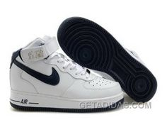 http://www.getadidas.com/nike-air-force-1-mid-white-black-sneakers-cheap-to-buy.html NIKE AIR FORCE 1 MID WHITE/BLACK SNEAKERS CHEAP TO BUY Only $54.68 , Free Shipping!