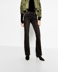 Image 2 of FLARED JEANS from Zara