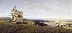 Ukrainian landscape - Volodymyr Orlovsky, 1882