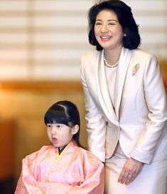 December 9th:  HRH Crown Princess Masako of Japan