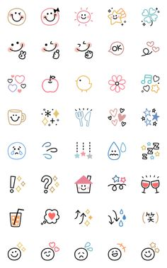 Cute Small Drawings, Mini Drawings, Doodle Drawings, Kawaii Doodles, Cute Doodles, Bullet Journal Writing, Bullet Journal Ideas Pages, Doodle Art For Beginners, Cute Doodle Art