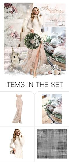 """A Christmas To Remember"" by thewondersoffashion ❤ liked on Polyvore featuring art, Christmas, dolls and holidaystyle"