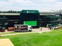 Amazing to see our vehicles and furniture at Wimbledon 2015! www.d-zinefurniture.co.uk