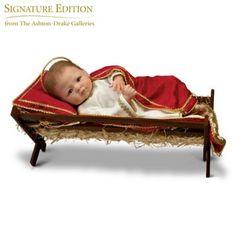 Jesus, The Savior Is Born Baby Doll