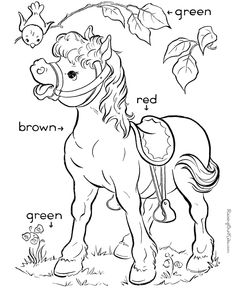 pre k learning colors color page sight words coloring pages help kids develop many