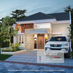 Modern Small House Design, Minimalist House Design, Minimalist Home, Surabaya, Living Room, Studio, Architecture, Interior, Outdoor Decor