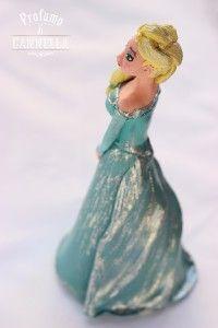 Porcellana fredda: Statuina di Elsa per festa a tema Frozen