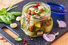 Napsat Preserves, Pickles, Cucumber, Vegetables, Food, Red Peppers, Preserve, Essen, Preserving Food