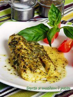 Pesto, Fish Recipes, Healthy Recipes, Seafood, Good Food, Turkey, Food And Drink, Menu, Chicken