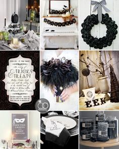9 Fun & Stylish Ideas for Halloween Weddings + Parties