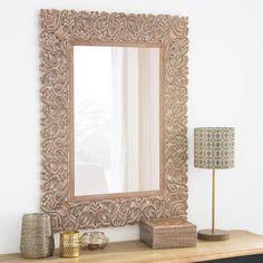 Espejo con relieve decorativo 65x85 -