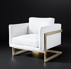 Milo Baughman Model #3426, 1968 Fabric Chair