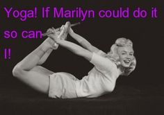 If Marilyn Can, so can I