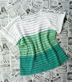 Quick And Easy Crochet Blanket Patterns For Beginners - Lina Pull Crochet, Mode Crochet, Easy Crochet, Crochet Lace, Crochet Kits, Crochet Top Outfit, Crochet Cardigan, Crochet Clothes, Knit Poncho