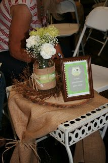 Rustic Owl Bridal Shower
