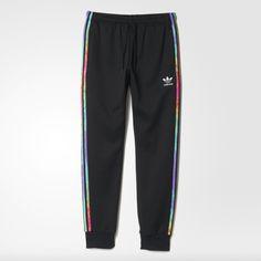 Stan Smith, Superstar, Estilo Fitness, Adidas Models, Lgbt, Joggers, Sweatpants, Adidas Sportswear, Pride Outfit