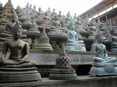 Gangaramaya Temple is one of the most important temples in Colombo, Sri Lanka. Today Gangaramaya serves not only as a place of Buddhist worship, it is also a centre of learning. The temple is uniquely attractive and tolerant to congregation members of many different religions.