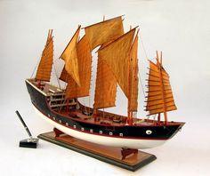Zheng He's Treasure Boat (Chinese Junk) model ship