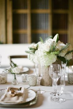 Romantic Neutral Reception Decor | photography by http://www.ashleyseawellphotography.com/