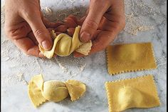 Ravioli Caramella (candies), stuffed pasta