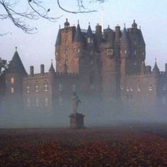 GLAMIS CASTLE ~ Angus, Scotland - this famously haunted castle has too many known spirits to mention Spooky Places, Haunted Places, Abandoned Places, Beautiful Castles, Beautiful Places, Palaces, Places To Travel, Places To See, Scottish Castles