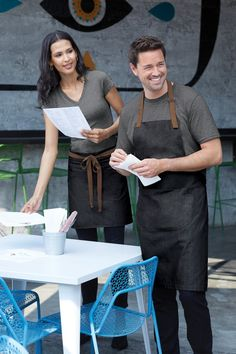 Custom Embroidered Apron, Custom Monogrammed Apron, Port Authority Market Full-Length Bib Apron, Personalized Apron with Text, Custom Apron - Custom aprons - Cafe Uniform, Waiter Uniform, Staff Uniforms, Work Uniforms, Create A Signature, Signature Look, Spa Oriental, Price Is Right Shirts, Chef Dress