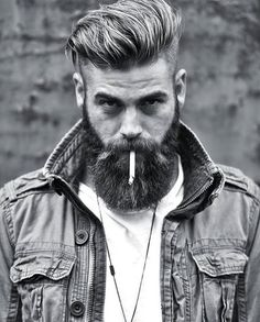 Bearded and Cigarrete
