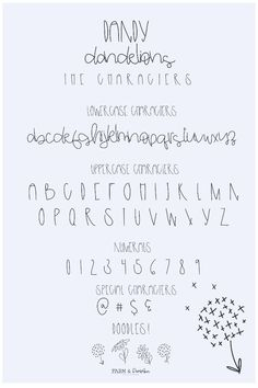 Cute Handwriting Fonts, Cute Fonts Alphabet, Abc Font, Calligraphy Fonts Alphabet, Handwriting Alphabet, Hand Lettering Fonts, Cursive Fonts, Lettering Styles, Lettering Tutorial