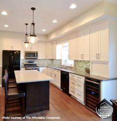 Thinking about how to update your kitchen? Find beautiful design ideas in this kitchen remodel of Home Artisans of Indiana member The Affordable Companies: http://homeartisansofindiana.com/blog/project-highlight-bright-open-kitchen-remodel/