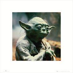 Star Wars - Yoda Kunstdruck